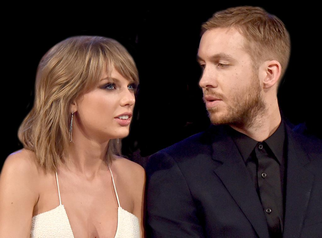 Taylor Swift, Calvin Harris Photos