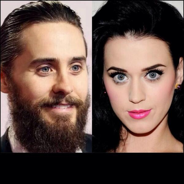 Jared Leto is Katy perry with a beard..