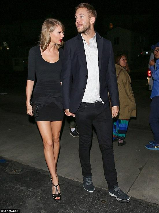 Taylor Swift and Calvin Harris Spotted Holding Hands on their Way to