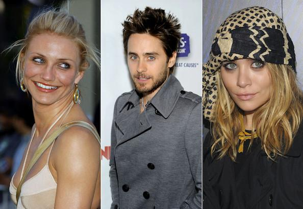 Cameron Diaz, Jared Leto and Ashley Olsen - Hollywood's Interconnected