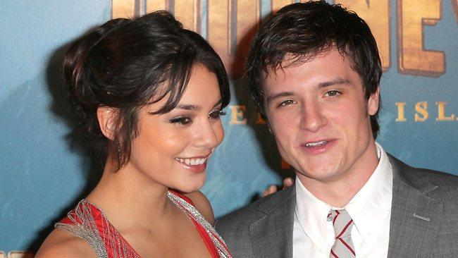 Pair in the past lane for Vanessa Hudgens and Josh Hutcherson