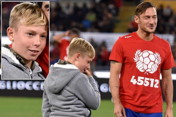 Francesco Totti's 11-year-old Son Cristian Finished Top Goal