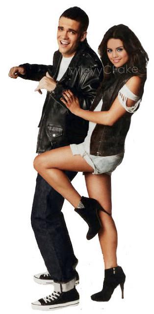 Mark Salling & Selena Gomez Flickr