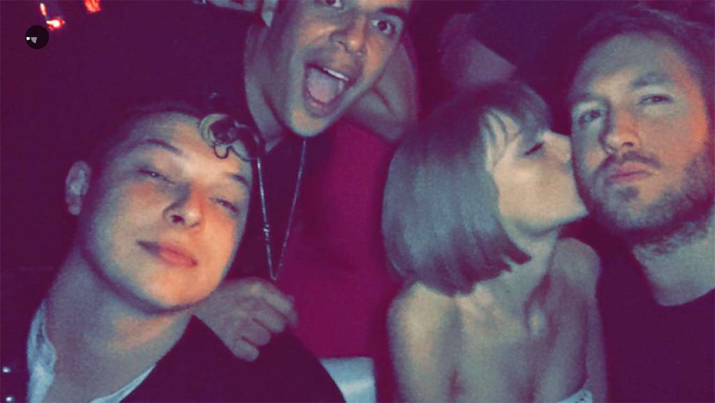 Taylor Swift and Calvin Harris Photos