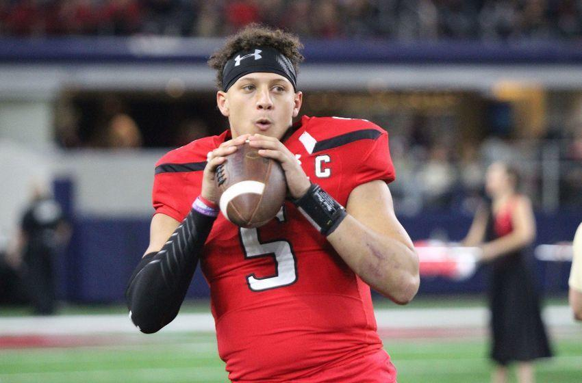 49ers Should Eye Texas Tech QB Patrick Mahomes In NFL Draft