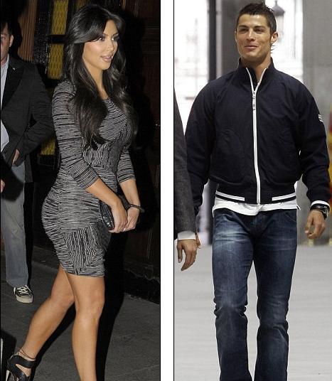 cristiano ronaldo y kim kardashian fotos juntos