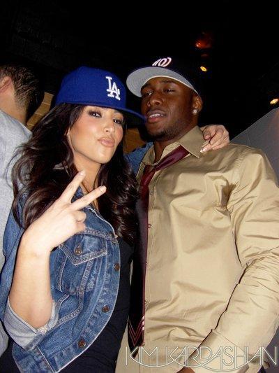 Kim Kardashian and Reggie Bush photos images