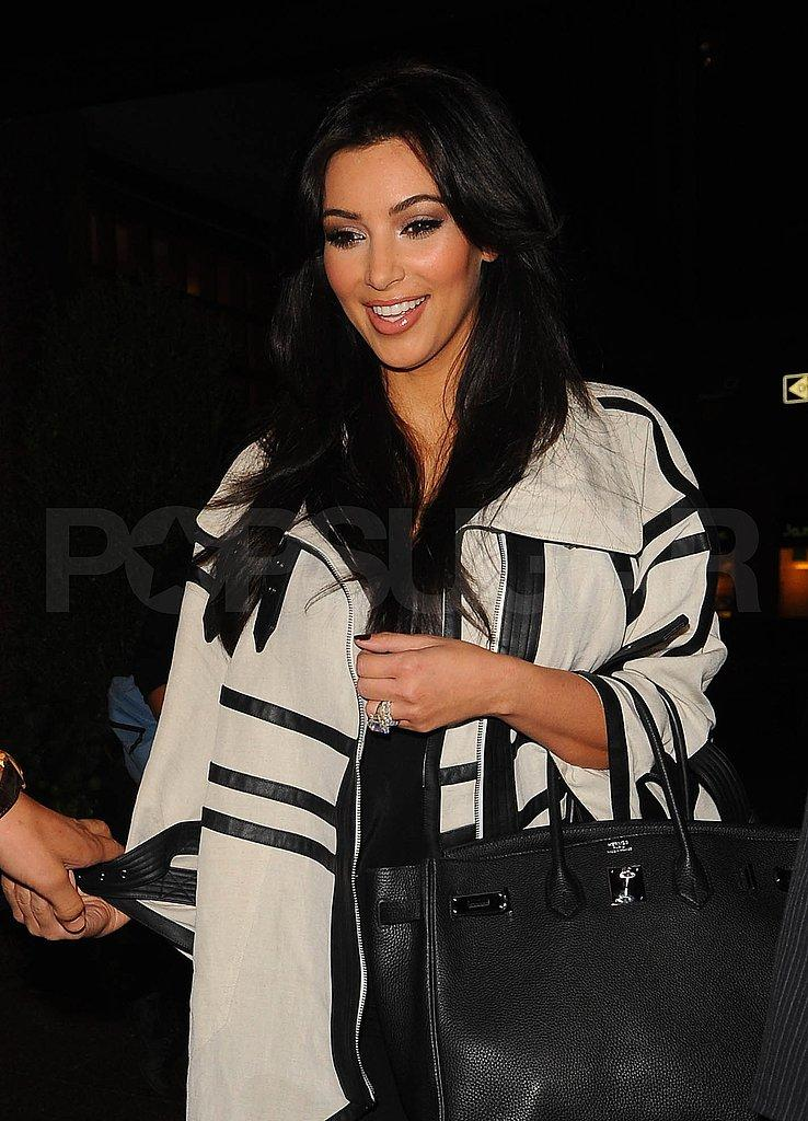 Kim Kardashian and Kris Humphries in NYC After VMAs | POPSUGAR
