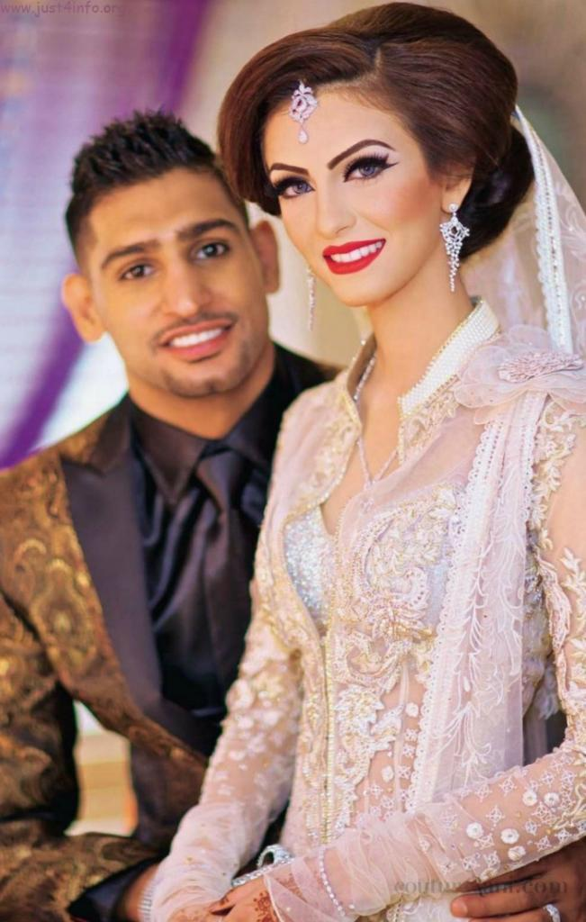 Wedding Wednesday: Amir Khan And Faryal Makhdoom   Couture Rani