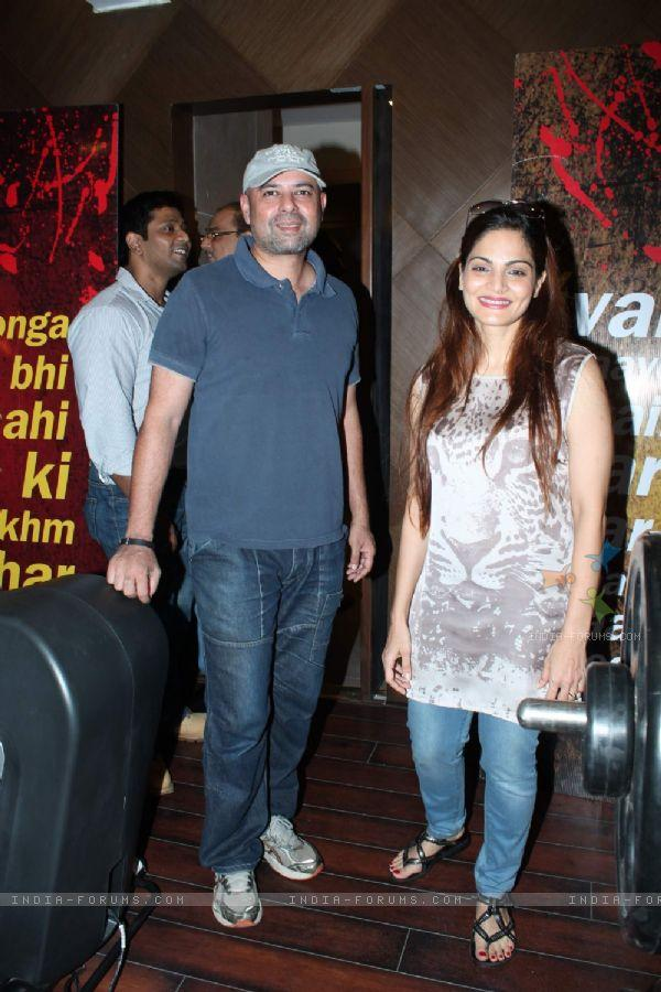 Atul Agnihotri : Actor Atul Agnihotri With Wife Alvira Khan At The