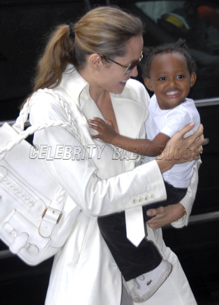 Celebrating Celebrity Baby Birthdays     Zahara Marley Jolie-Pitt