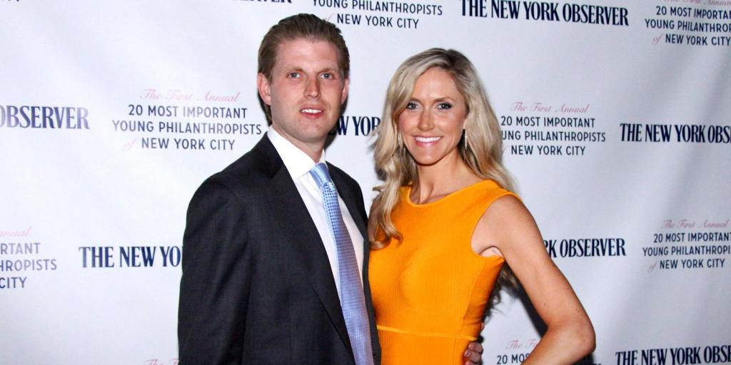 Celebrity Apprentice' Eric Trump Engaged To Girlfriend Lara Yunaska