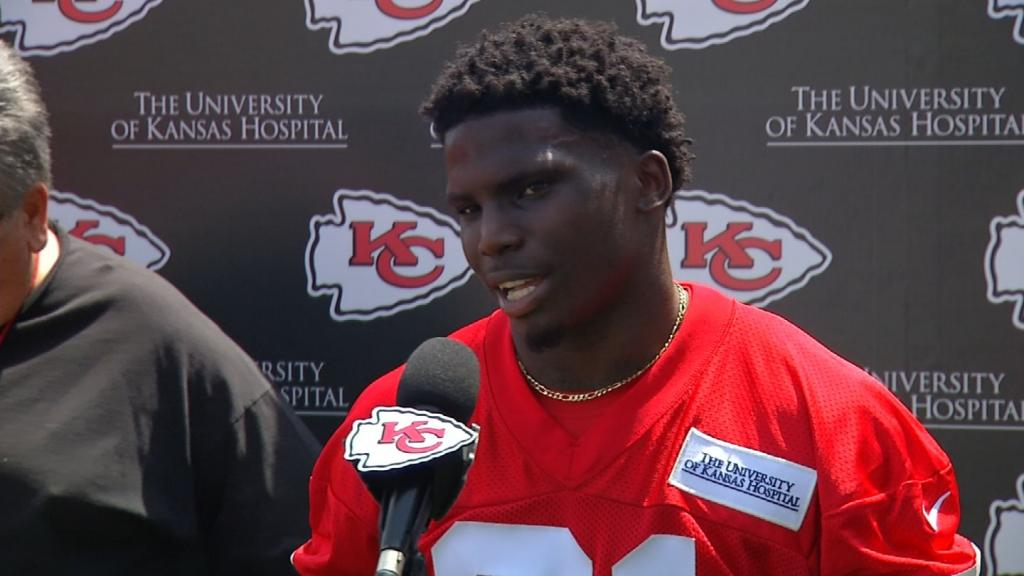 Chiefs Draft Pick Tyreek Hill Responds To Domestic Violence Cont - KCTV5