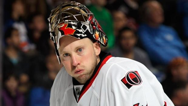 Craig Anderson Signs 3-year Contract Extension With Senators - NHL