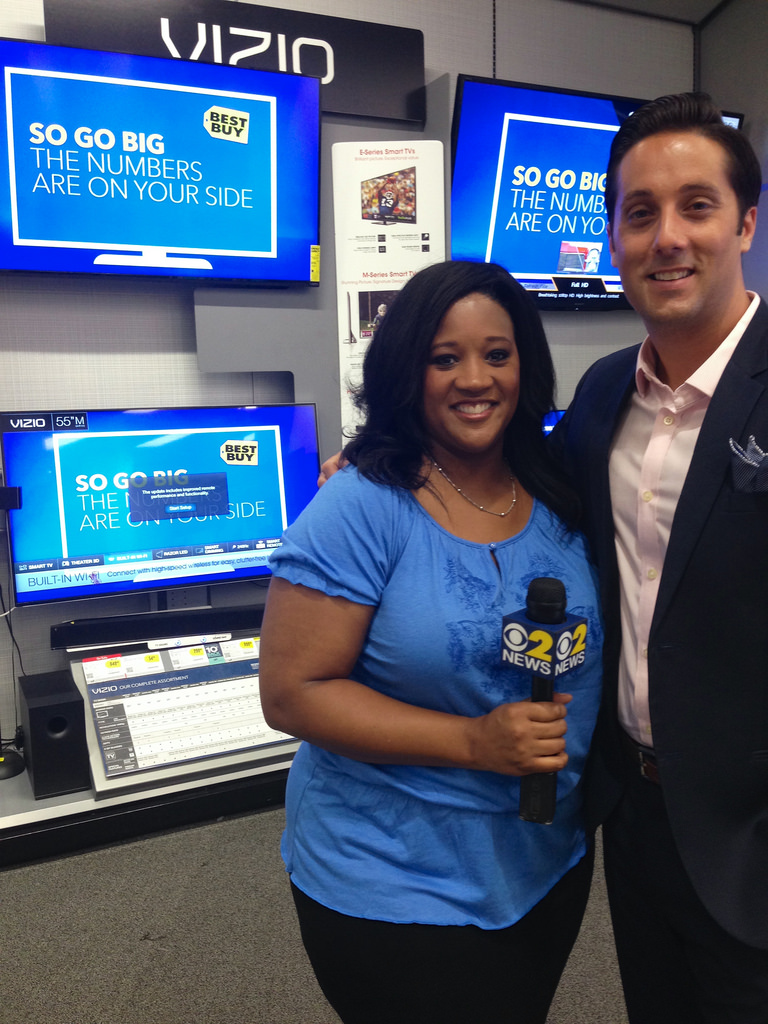 Elise Finch And Mark LoCastro   At Best Buy   Deal News   Flickr