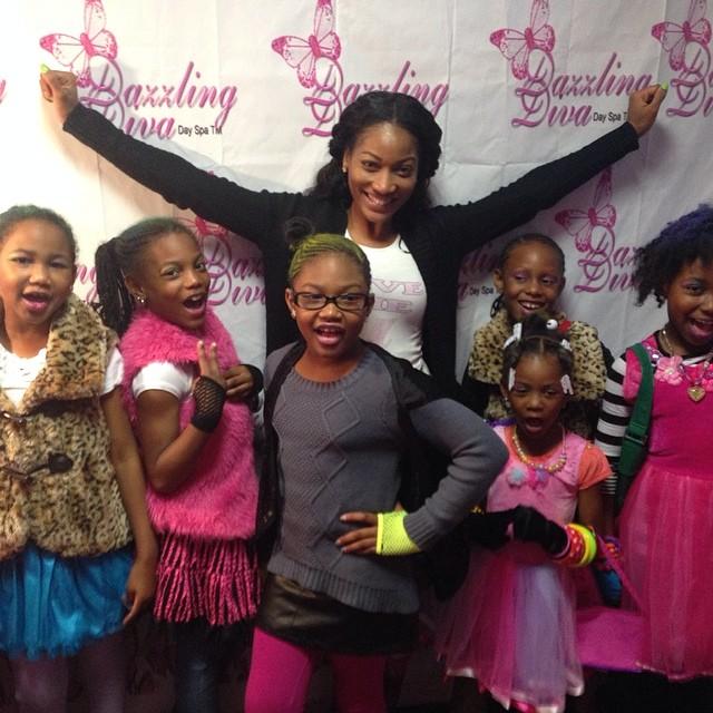 EMANI RICHARDSON FINALLY GETS HER SPA DAY - Black Celebrity Kids