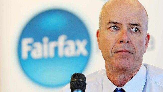 Fairfax CEO On Restructuring And Journos Who Speak Out - Media