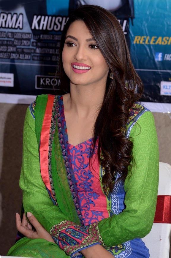 Gauhar Learned Punjabi For Movie, Especially
