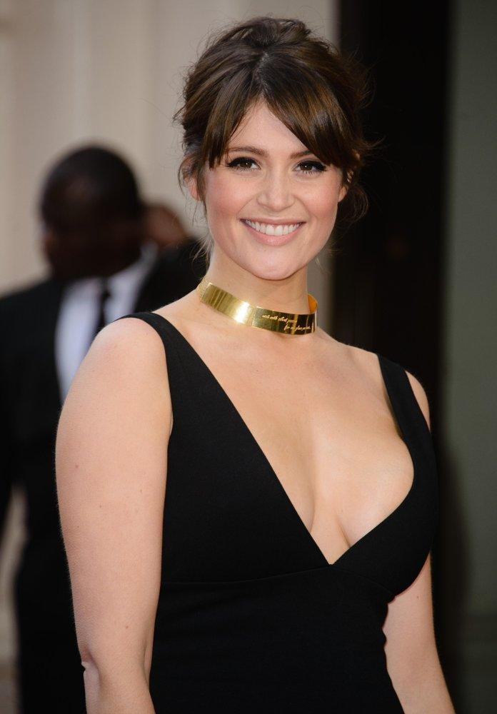 Gemma Arterton Risks Nipple Slip In Risqu Low Cut Frock At ... Emma Stone Dating