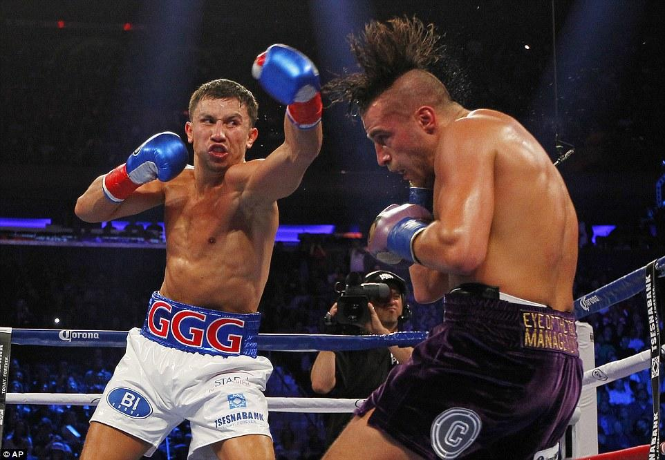Gennady Golovkin Dominates David Lemieux In First Pay-per-view