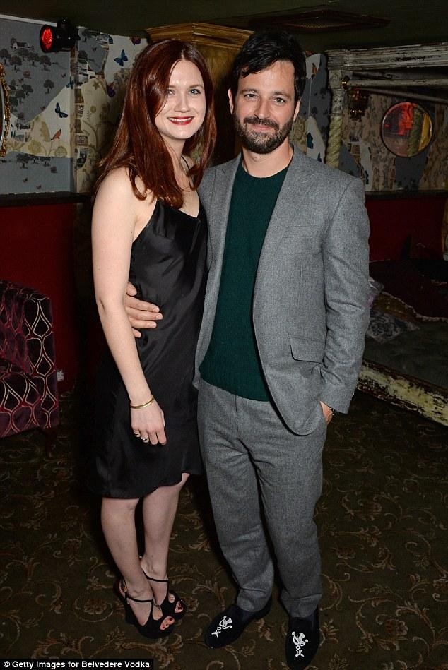 Harry Potter's Bonnie Wright Joins Boyfriend Simon Hammerstein For