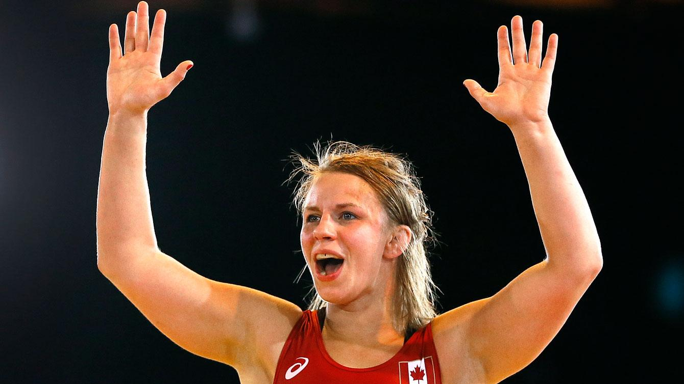 Hello, My Name Is Erica Wiebe And I Wrestle   Official Canadian