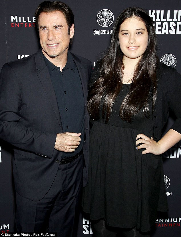 John Travolta Takes Daughter Ella Bleu, 13, As His Date To Killing