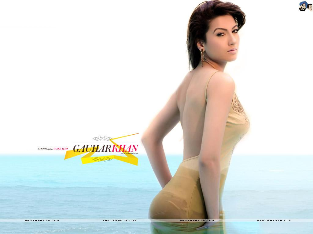 Gauhar Khan Modeling Photos