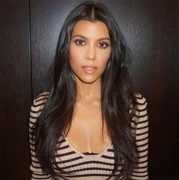 Kourtney Kardashian's Shiny Hair Secret     Get Her Must-Have Dry