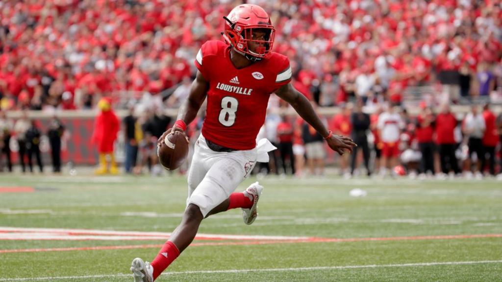 Lamar Jackson - QB For The Louisville Cardinals   FOX Sports