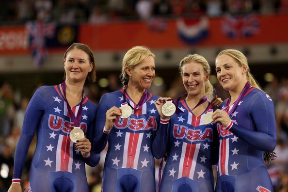 Sarah Hammer And Lauren Tamayo Photos Photos - Olympics Day 8