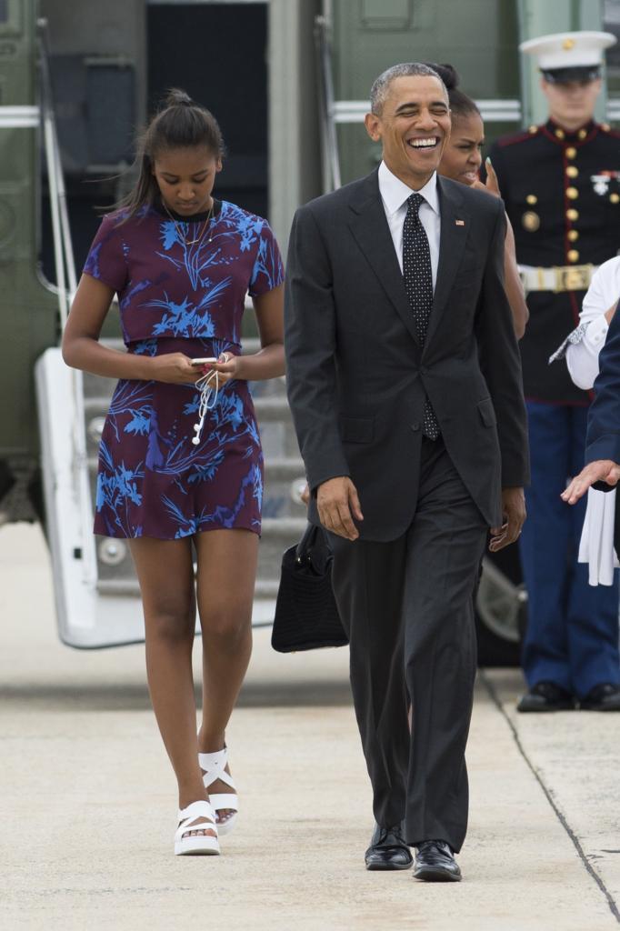Sasha And Malia Obama's Best Fashion Looks - Style Evolution Of