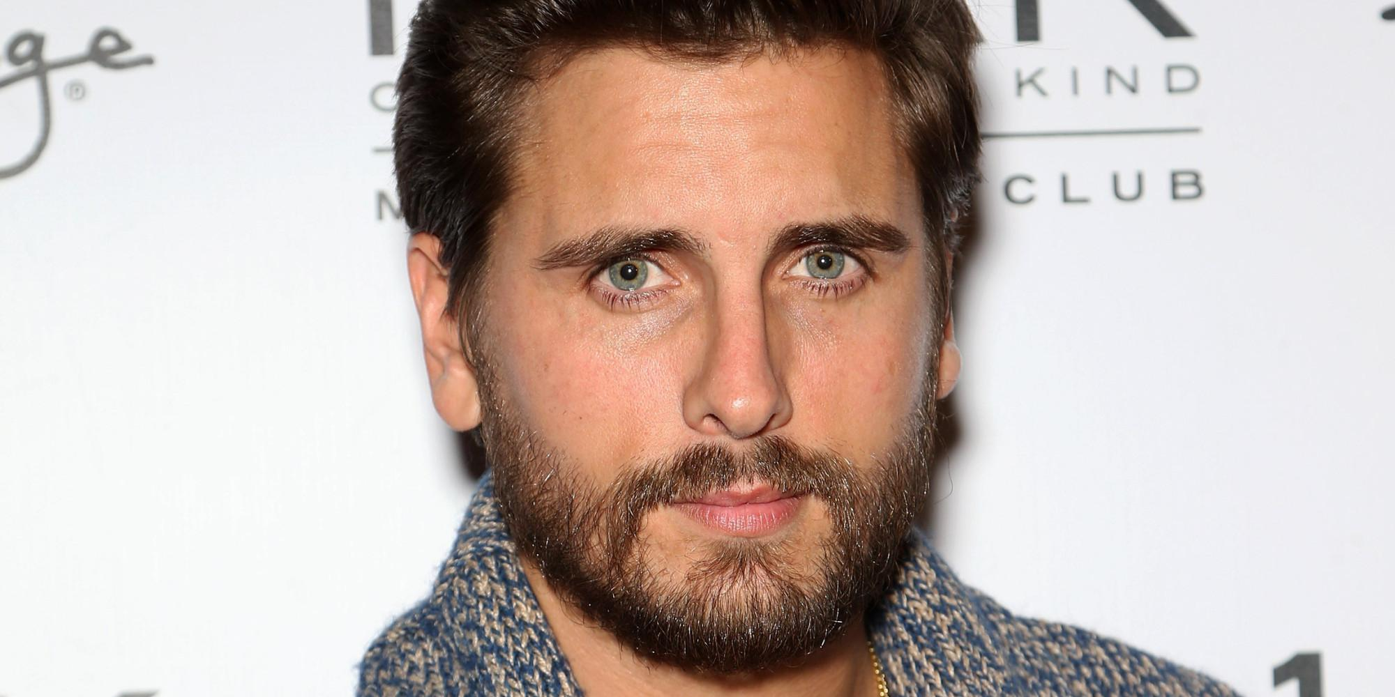 Scott Disick Reportedly Partied With Friends Just Weeks After Third