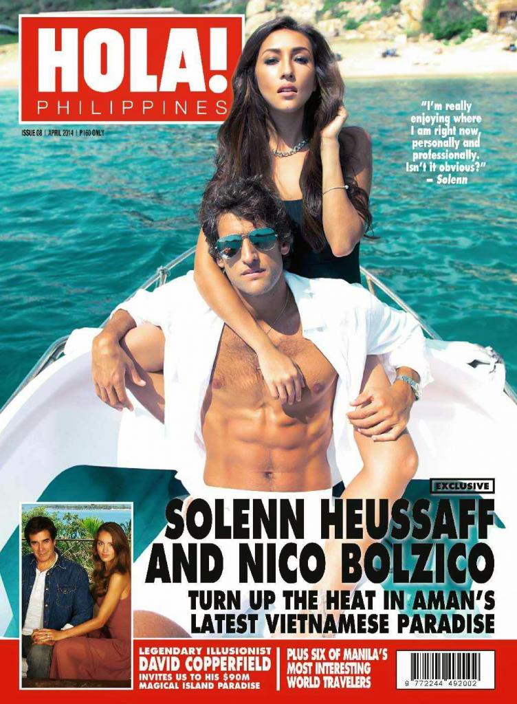 Solenn Heussaff And Nico Bolzico Covers Hola Philippines April
