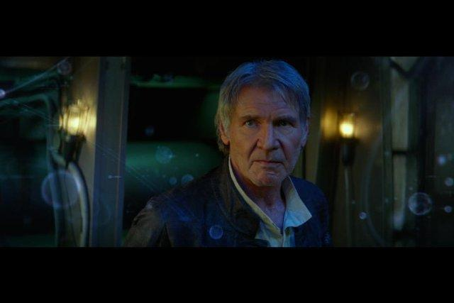 Still of Harrison Ford in Star Wars: The Force Awakens (2015