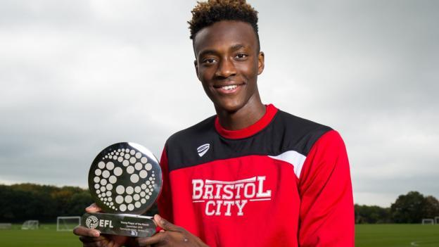 Tammy Abraham: EFL Young Player Award For Bristol City's On-loan