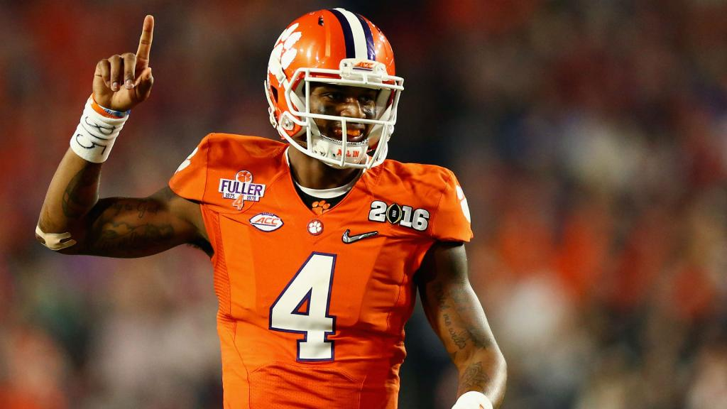The Face Of College Football? It's Deshaun Watson, Of Course   NCAA