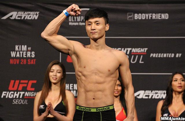 UFC Fight Night 79 Results: Doo Ho Choi Stops Sam Sicilia In 93