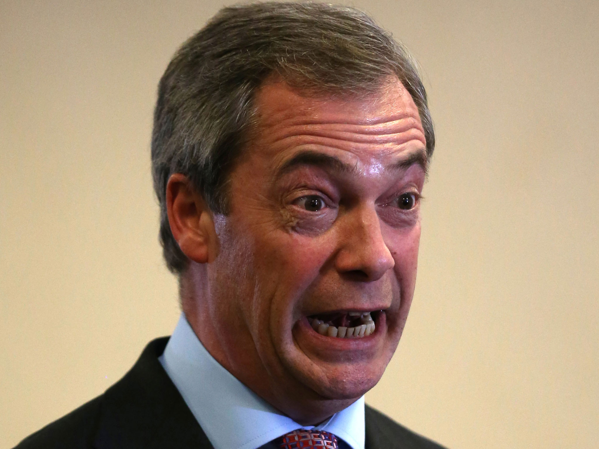 Ukip Leader Nigel Farage Defends Employing German Wife, At Launch Of
