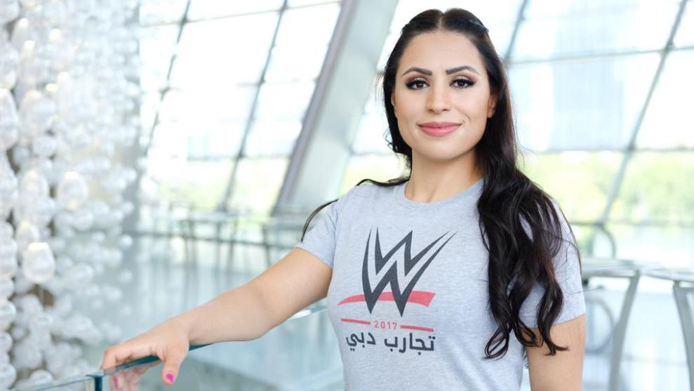 WWE Sign First Woman From Middle East With Shadia Bseiso Set To