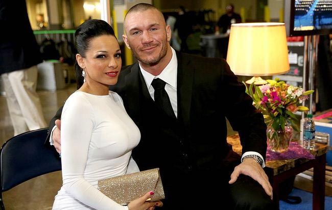 WWE Wrestler, Randy Orton And His Wife Kimberly Kessler