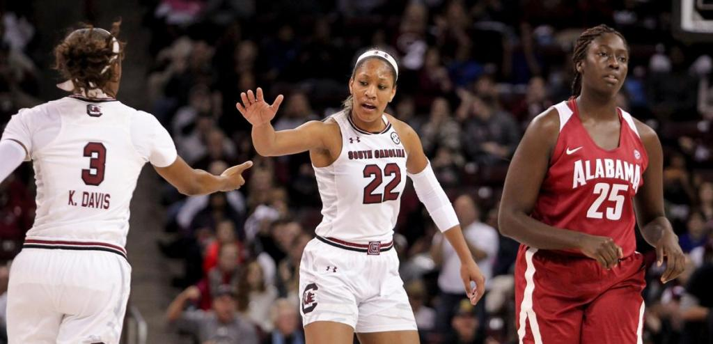 A'ja Wilson Injured Late In Gamecocks' Win Over Auburn Sports