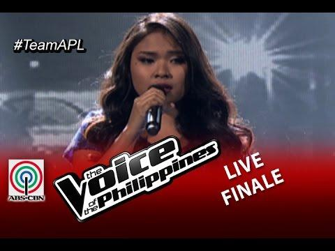 The Live Shows Top 2 Performance : All By Myself By Alisah Bonaobra
