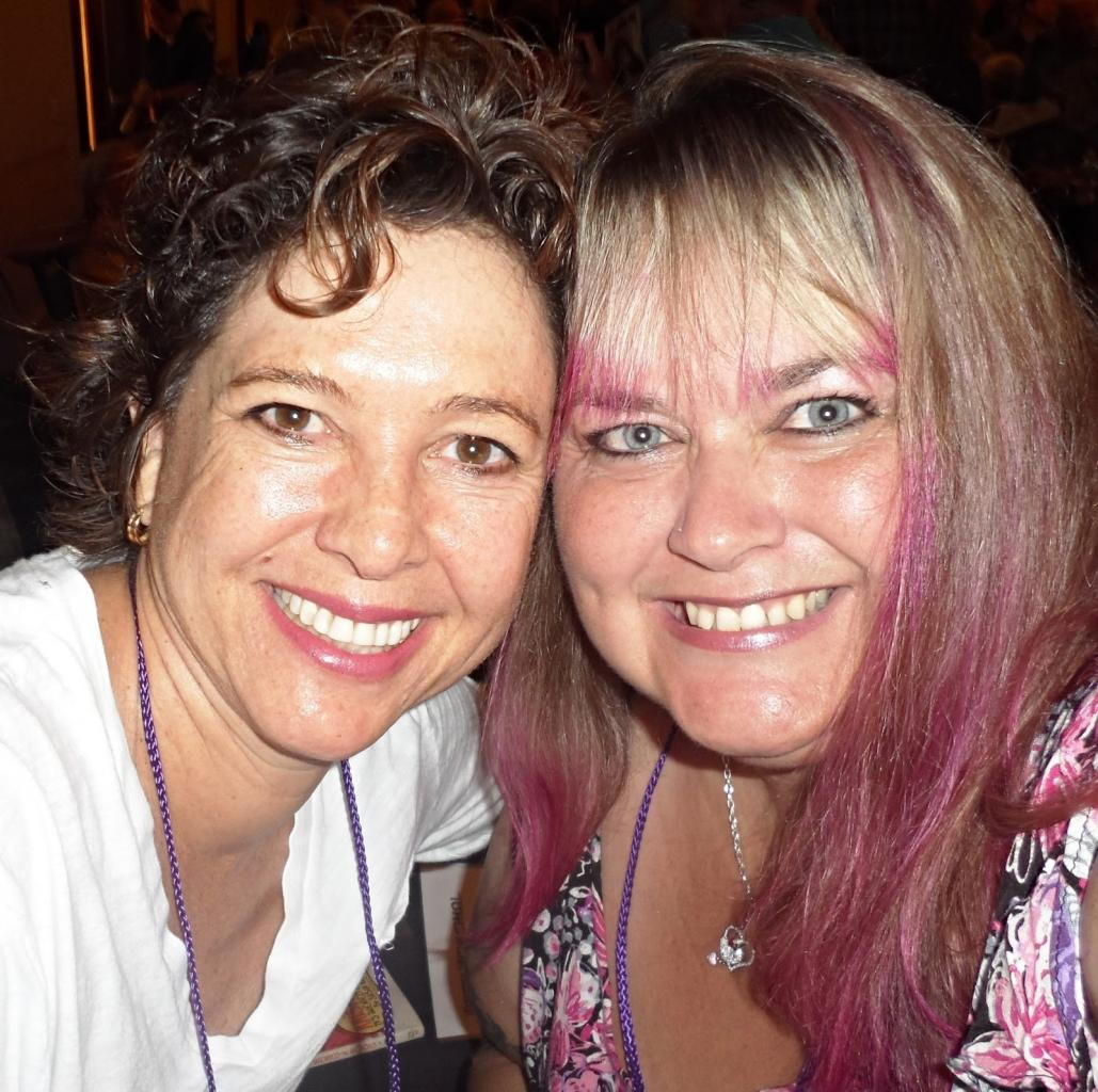 Martie Allen with Girlfriend Kristy McNichol