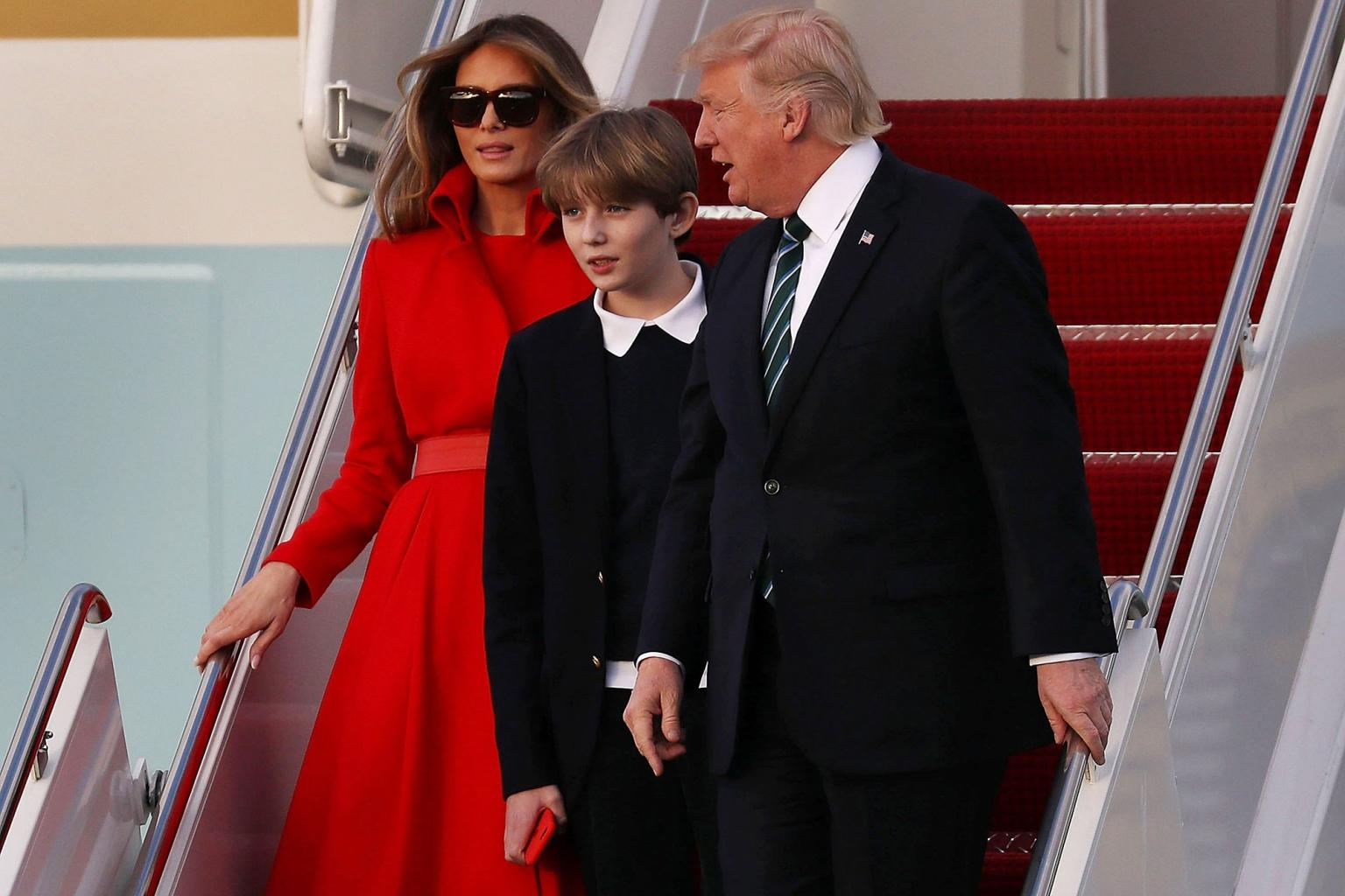First Lady Melania Trump and Son Barron Set to Move to White House This Summer