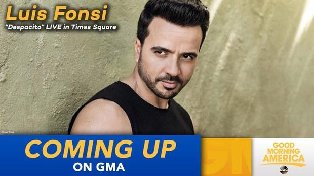 Luis Fonsi Performs 'Despacito' on 'GMA', Wants The Mariah Record: Watch