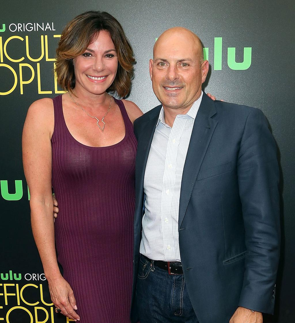 Luann and Tom D        Agostino Fight Back Against Rumors of Abuse and Cheating During    Marriage