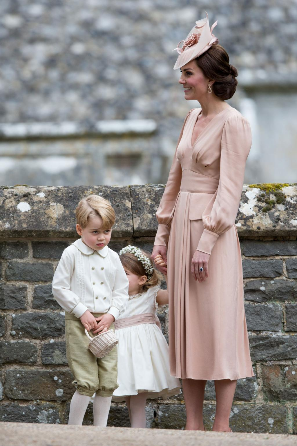 Royal Trouble! Prince George Sobs After Getting Scolded by Kate at Pippa Middleton       's Wedding