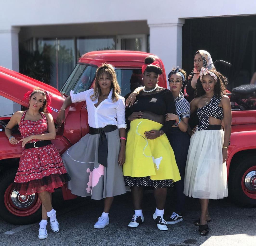 'Shake, Rattle and Roll!': See Serena Williams' '50s-themed (and Poodle-Skirt-Filled) Baby Shower