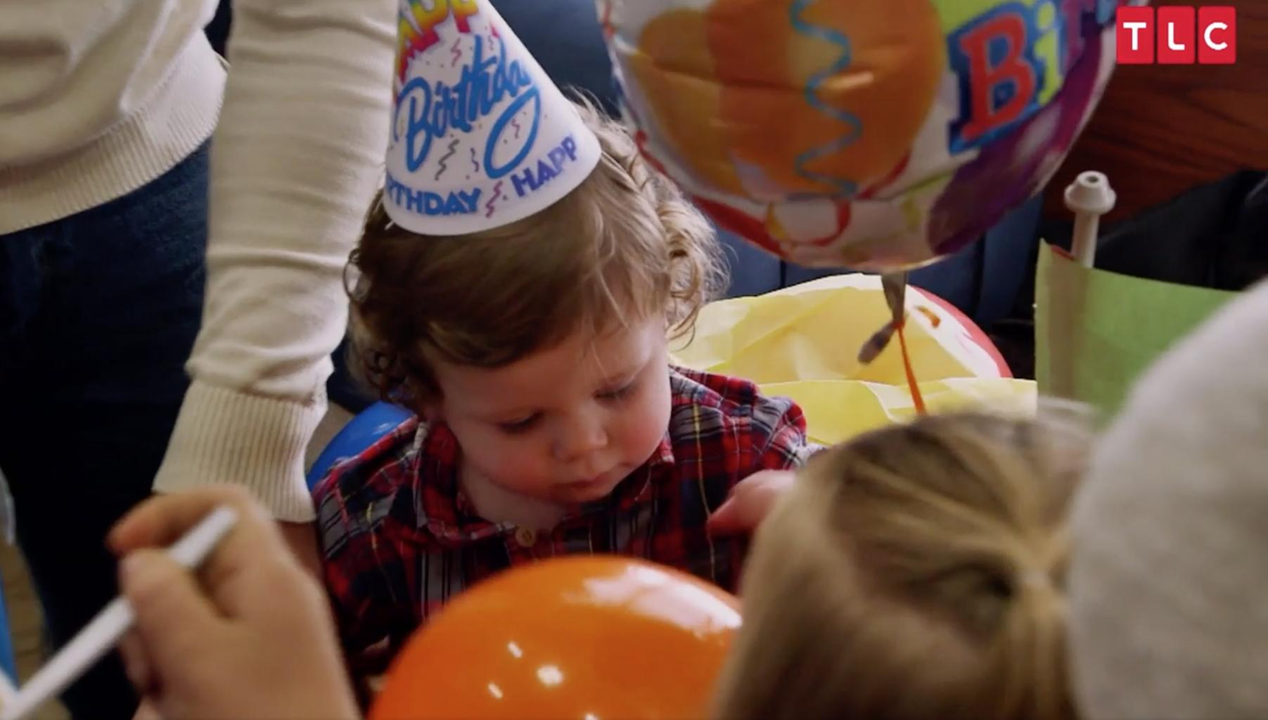 How Jessa Duggar Seewald  's Family Celebrated    Plump, Happy '  Baby Spurgeon  's 1st  Birthday